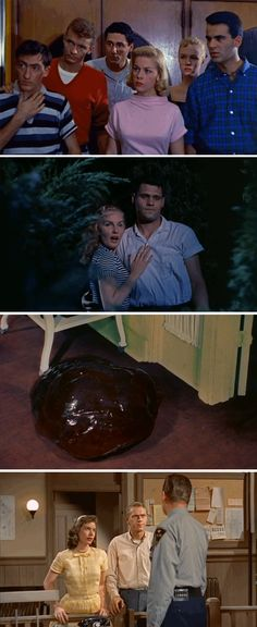 Fashion in Film: The Blob, 1958.  perfect and one of my favorite movies.