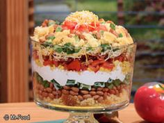 layer salad, mexican corn, rave, bread salad, fiesta, fun recip, corn bread, summer salads, novel