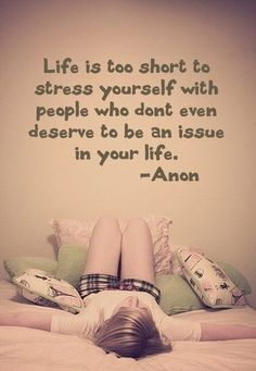 Life is too short.