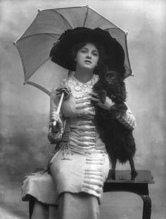 Gladys Cooper par Bassano 1910