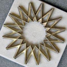 Image of galaxy brass trivet