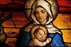 Mother Mary and Babe