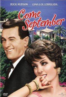 Come September favorit film, poster, movies online, rock hudson, favorit movi, rocks, septemb 1961, summer movies, september