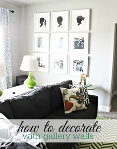 How to Decorate: 5 Gallery Wall Styles