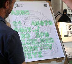 A23D: 3D-Printed Letterpress Font | A2-type | New North Press | Chalk Studios