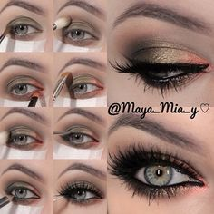 .@maya_mia_y | Pictorial of today's look 1.Apply Mac Xtreme Mettalics Vintage Coin cream s... | Webstagram - the best Instagram viewer
