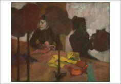 Edgar Degas, The Milliners, c. 1882 notecard