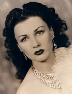Queen Fawzia of Iran, first wife of the shah, originally princess of Egypt daughter of queen Nazli and king Farouk.