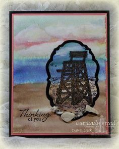 Stamps - Our Daily Bread Designs My Lifeguard, Anchor the Soul, ODBD Custom Vintage Labels Die