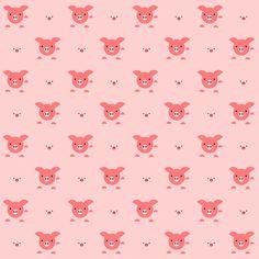 FREE digital pig scrapbooking paper