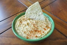 Spicy Pumpkin Hummus...This is perfect for a party and potluck. Click for full recipe.