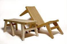 Bench/Deck Chair » Yanko Design