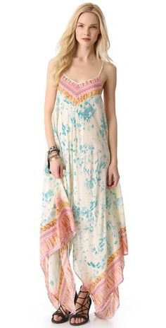 Whisper in the wind. Free People maxi.