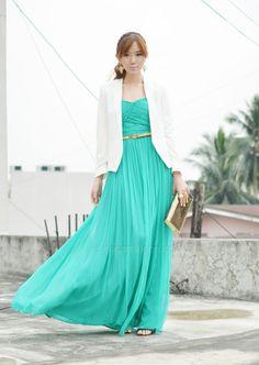 Dress from Mango (Camille Co via itscamilleco.com)