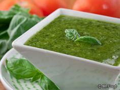 Fresh Pesto Sauce - Easy to pair with your favorite pasta!