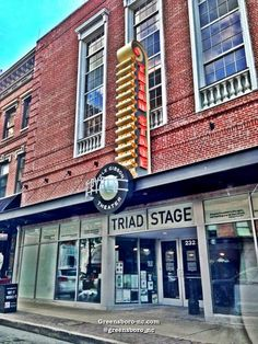 Triad Stage a regional professional theater located in downtown Greensboro, NC   232 S Elm St, Greensboro, NC 27401