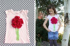 Цветок Для Украшения Блузки Своими Руками