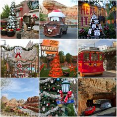 Disneyland for the holidays - California Adventure Cars Land - Today's Creative Blog