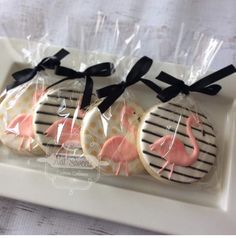 Flamingo cookies - I