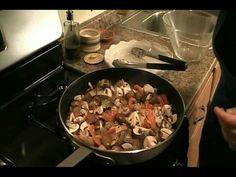 """Chicken Cacciatore Recipe - Laura Vitale """"Laura In The Kitchen"""" Episode 9"""