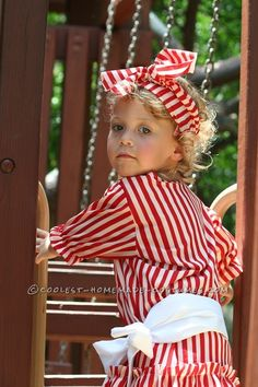 Beautiful Girl's Victorian Beach Bather Costume... Coolest Homemade Costume Contest