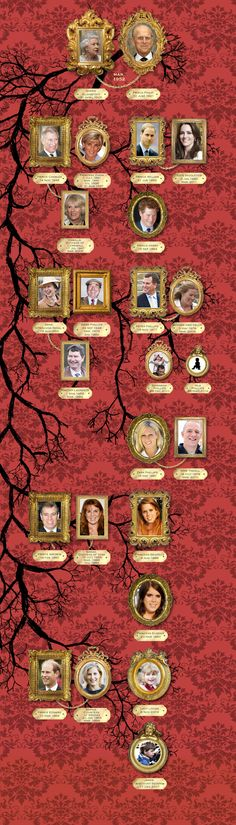 British Royal Family Tree......   http://www.sofeminine.co.uk/lifestyle/royal-family-tree-british-royal-family-d18823.html   (When you Click on the link, Click the name of each Royal family member to find out more...Lots of information)
