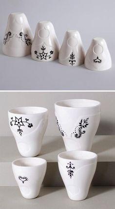 Matryoshka Nesting Cups