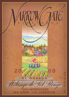 Narrow Gate Vineyards in Placerville Fair Play