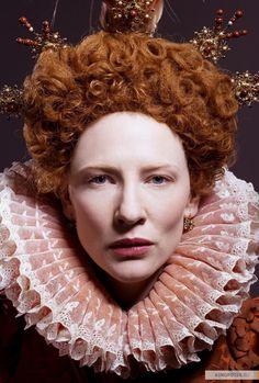 "Cate Blanchett as ""Elizabeth"""