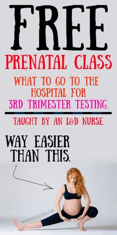 Ready to get prepared for your upcoming birth?  Don't miss this free prenatal class!