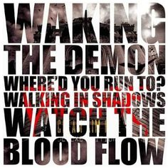 bullet for my valentine the end lyrics