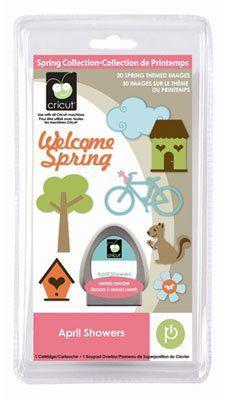 Amazon.com: Cricut Cartridge, April Showers: Arts, Crafts & Sewing