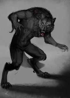 Werewolf by Aomori on deviantART