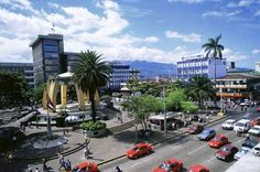 San Jose, Costa Rica - I lived there for 6 months.