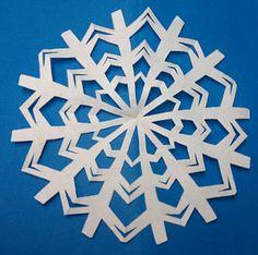 diy snow flakes