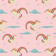 Unicorn print fabric.