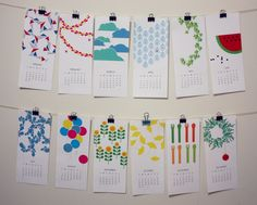printable calendar. lovely!