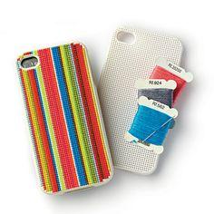 Needlepoint iPhone Case from purlsoho.com; $24.20