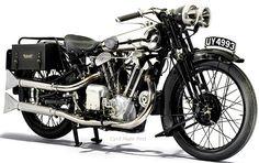 Bonhams London Auction. 1929 Brough Superior 986cc SS100 Alpine Grand Sports And 1950 Vincent 998cc Series C Black Shadow