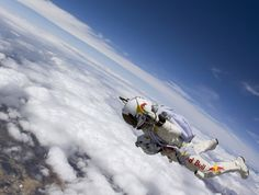 Sky Diving...from SPACE. Hit the link for the article.