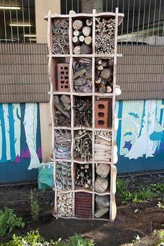 Bug apartment block! #homesfornature