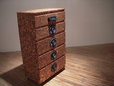 lots of things covered with pennies! Using pennies to create art ~ Money Bags Full - Finance Blog