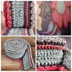 Single Crochet Skinny Scarf