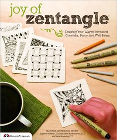 Zentangle® is an easy-to-learn method of pattern drawing that reduces stress while promoting creativity.