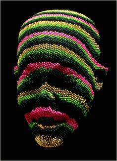 If It's Hip, It's Here: Mach 1 : Match Head Sculptures by British Artist David Mach