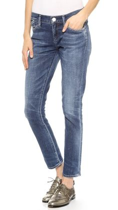 GOLDSIGN Frontier Straight Leg Ankle Jeans