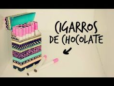 Cigarros de chocolate con cajetilla! (Anie)
