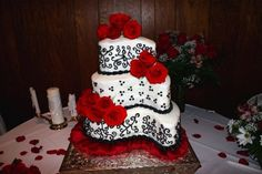 paisley shaped wedding cake photos - Google Search