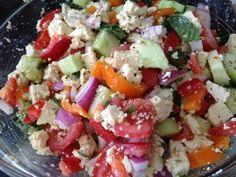 Vegan Greek Salad