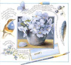 art journal, memori, marjolein daydream, color blue, bastin art, marjolein bastin, artist, printabl, illustr